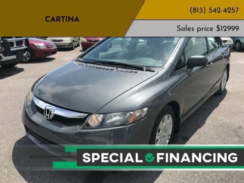 2009 Honda Civic for sale at Cartina in Tampa FL