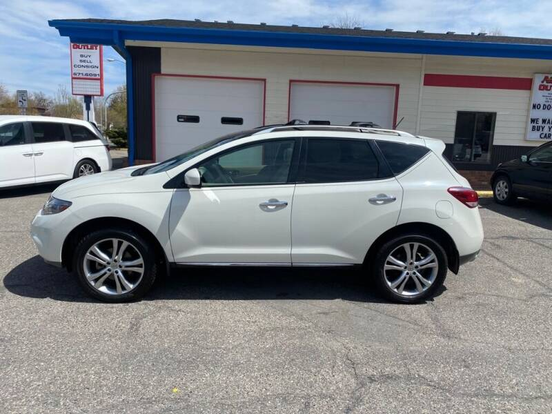 2011 Nissan Murano for sale at Auto Outlet in Billings MT