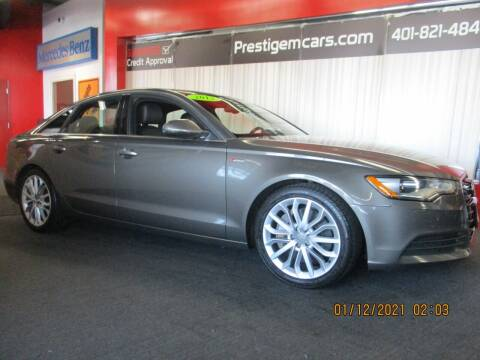 2013 Audi A6 for sale at Prestige Motorcars in Warwick RI