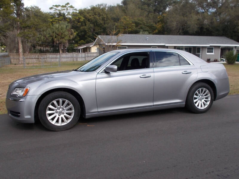 2014 Chrysler 300 for sale at LANCASTER'S AUTO SALES INC in Fruitland Park FL