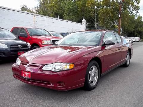 2005 Chevrolet Monte Carlo for sale at 1st Choice Auto Sales in Fairfax VA