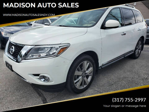 2014 Nissan Pathfinder for sale at MADISON AUTO SALES in Indianapolis IN