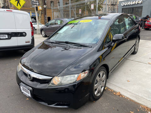 2010 Honda Civic for sale at DEALS ON WHEELS in Newark NJ