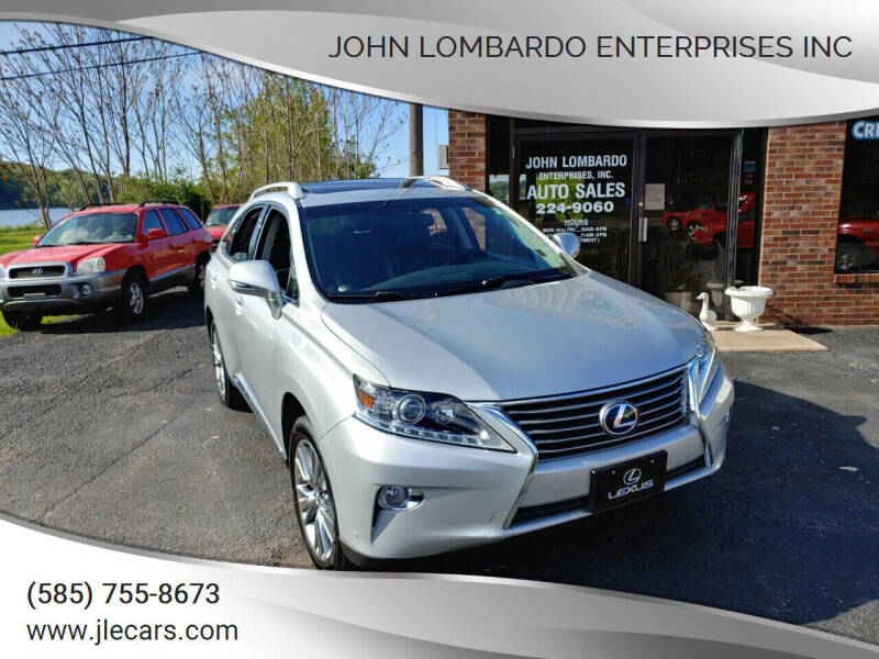 2013 Lexus RX 450h for sale at John Lombardo Enterprises Inc in Rochester NY