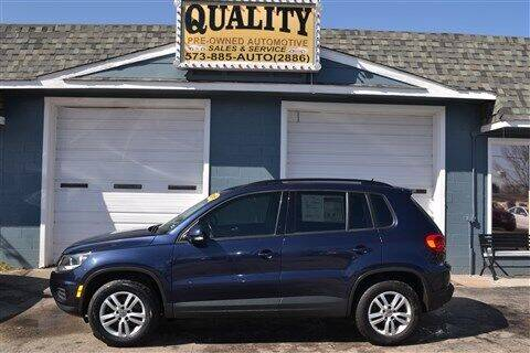 2016 Volkswagen Tiguan for sale at Quality Pre-Owned Automotive in Cuba MO