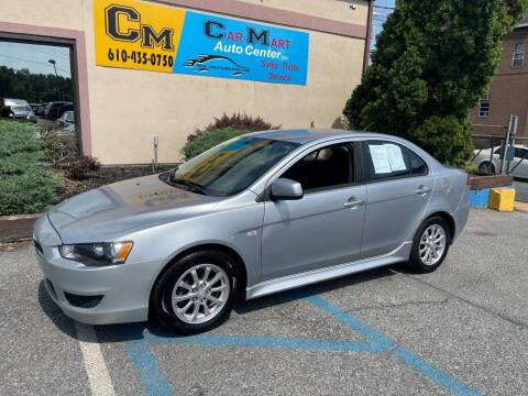 2012 Mitsubishi Lancer for sale at Car Mart Auto Center II, LLC in Allentown PA