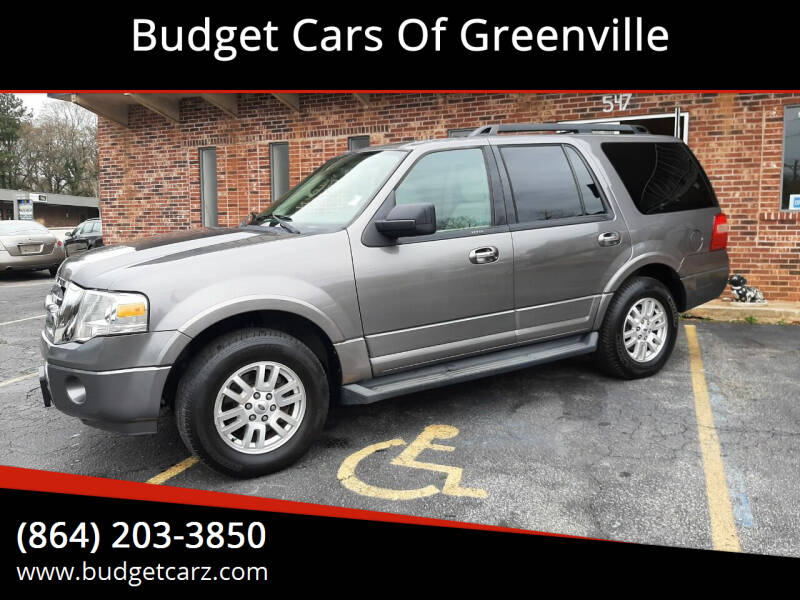 2011 Ford Expedition for sale at Budget Cars Of Greenville in Greenville SC
