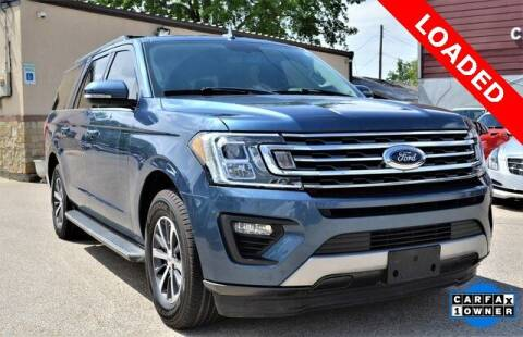2018 Ford Expedition MAX for sale at LAKESIDE MOTORS, INC. in Sachse TX