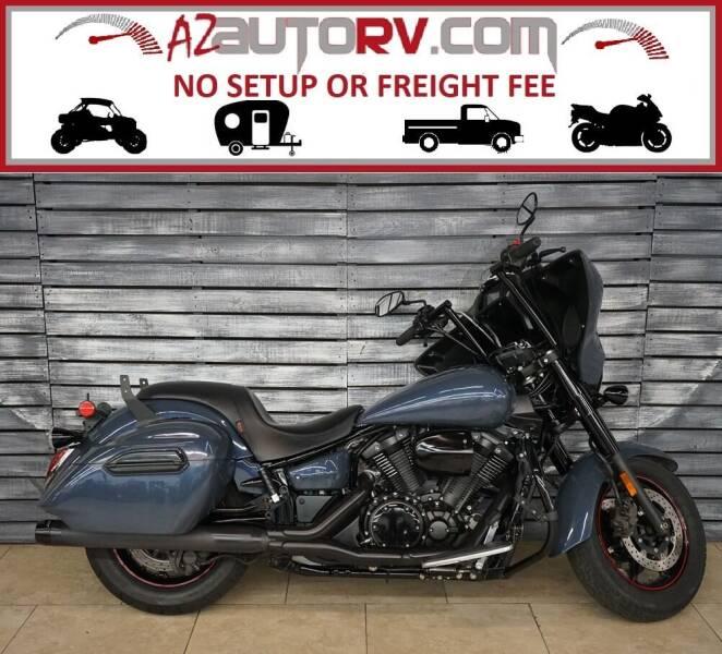 2015 Yamaha V-Star 1300 Tourer for sale at AZautorv.com in Mesa AZ
