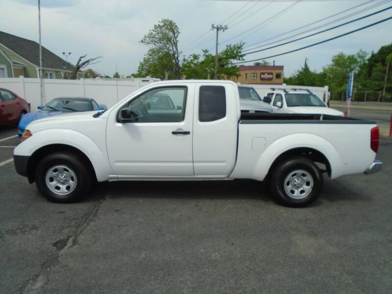 2012 Nissan Frontier for sale at Gemini Auto Sales in Providence RI