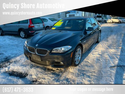 2012 BMW 5 Series for sale at Quincy Shore Automotive in Quincy MA