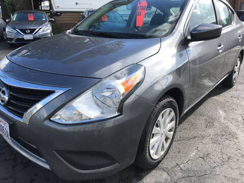 2019 Nissan Versa for sale at AutoDistributors Inc in Fulton CA