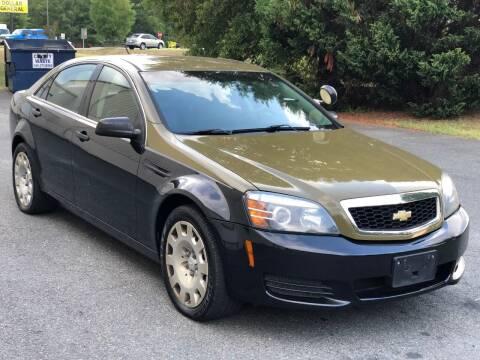 2012 Chevrolet Caprice for sale at ECONO AUTO INC in Spotsylvania VA