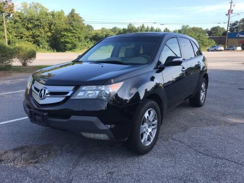 2008 Acura MDX for sale at ATLANTA AUTO WAY in Duluth GA