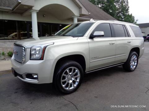 2016 GMC Yukon for sale at DEALS UNLIMITED INC in Portage MI