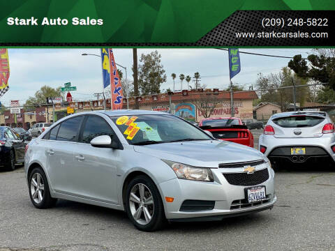 2013 Chevrolet Cruze for sale at Stark Auto Sales in Modesto CA
