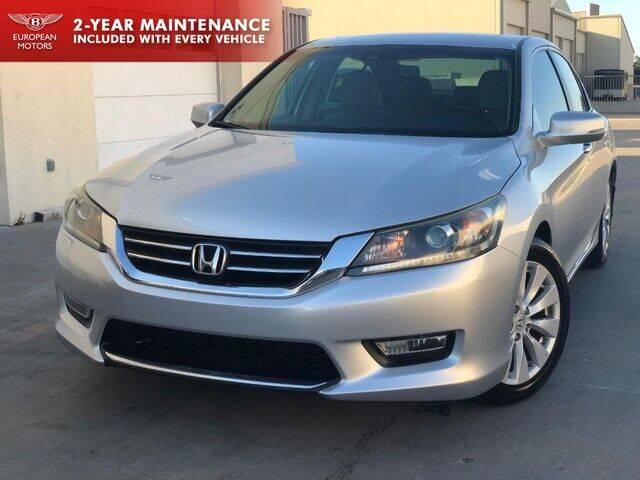 2013 Honda Accord for sale at European Motors Inc in Plano TX
