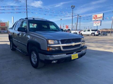 2004 Chevrolet Avalanche for sale at Russell Smith Auto in Fort Worth TX