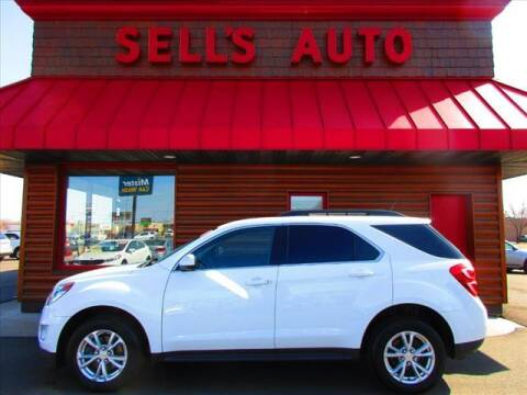 2016 Chevrolet Equinox for sale at Sells Auto INC in Saint Cloud MN