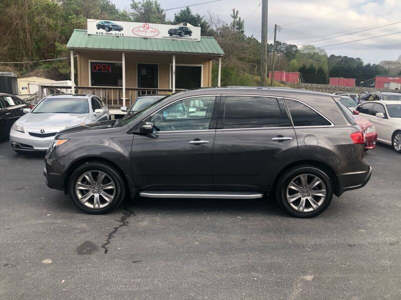 2012 Acura MDX for sale at Luxury Auto Innovations in Flowery Branch GA