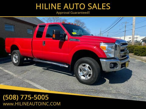 2015 Ford F-250 Super Duty for sale at HILINE AUTO SALES in Hyannis MA