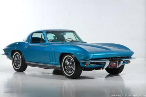 1966 Chevrolet Corvette for sale at Motorcar Classics in Farmingdale NY