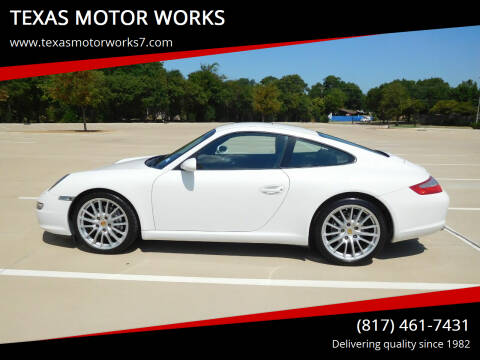 2006 Porsche 911 for sale at TEXAS MOTOR WORKS in Arlington TX