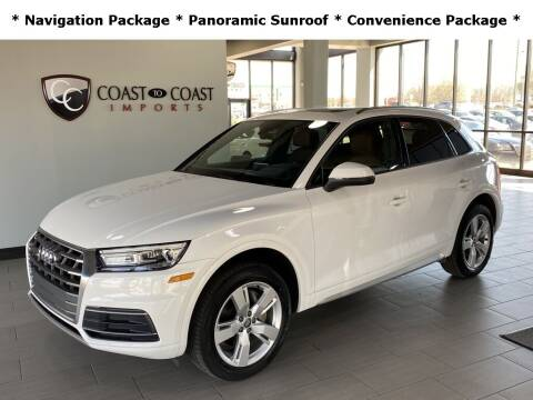 2018 Audi Q5 for sale at Coast to Coast Imports in Fishers IN