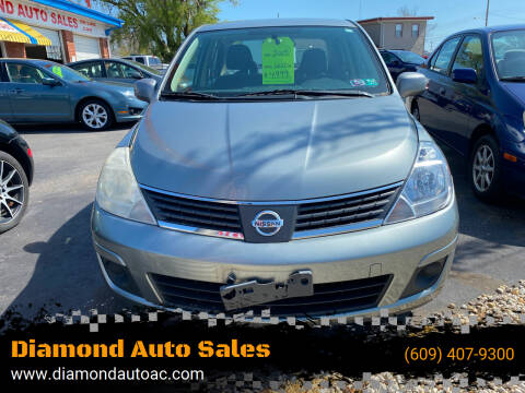 2009 Nissan Versa for sale at Diamond Auto Sales in Pleasantville NJ