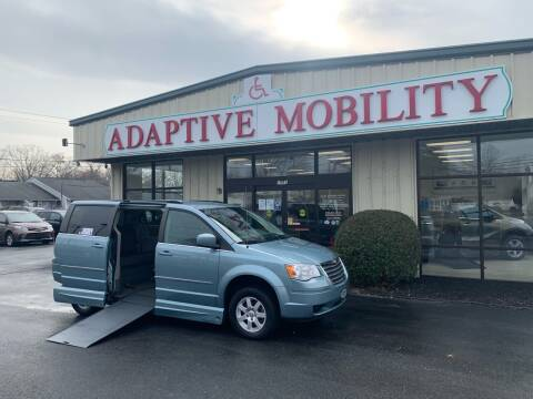 2010 Chrysler Town and Country for sale at Adaptive Mobility Wheelchair Vans in Seekonk MA