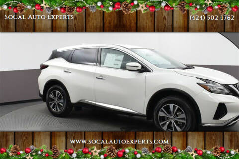 2020 Nissan Murano for sale at SoCal Auto Experts in Culver City CA