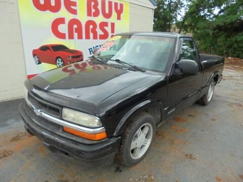 1998 Chevrolet S-10 for sale at Right Price Auto Sales in Murfreesboro TN