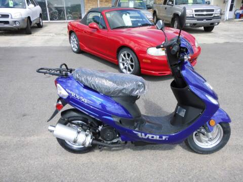 2018 WOLF BRAND SCOOTERS RX-50 for sale at Cycle M in Machesney Park IL