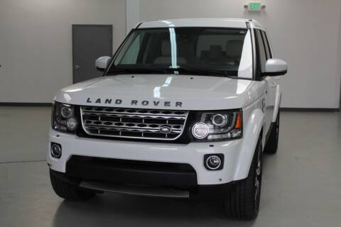 2014 Land Rover LR4 for sale at Mag Motor Company in Walnut Creek CA