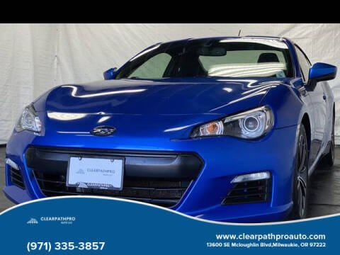 2013 Subaru BRZ for sale at CLEARPATHPRO AUTO in Milwaukie OR