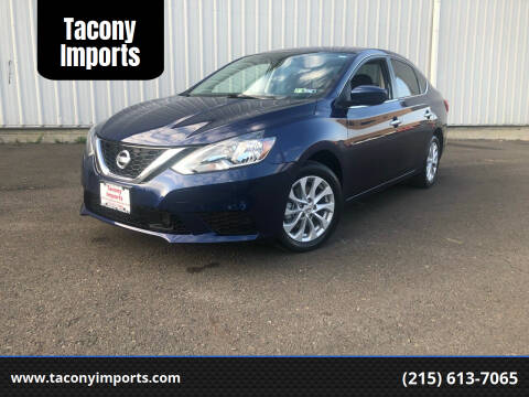 2018 Nissan Sentra for sale at Tacony Imports in Philadelphia PA