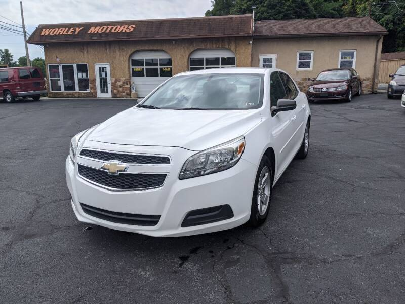 2013 Chevrolet Malibu for sale at Worley Motors in Enola PA