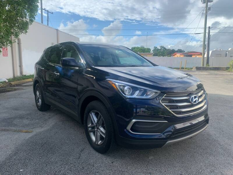 2018 Hyundai Santa Fe Sport for sale at MIAMI FINE CARS & TRUCKS in Hialeah FL