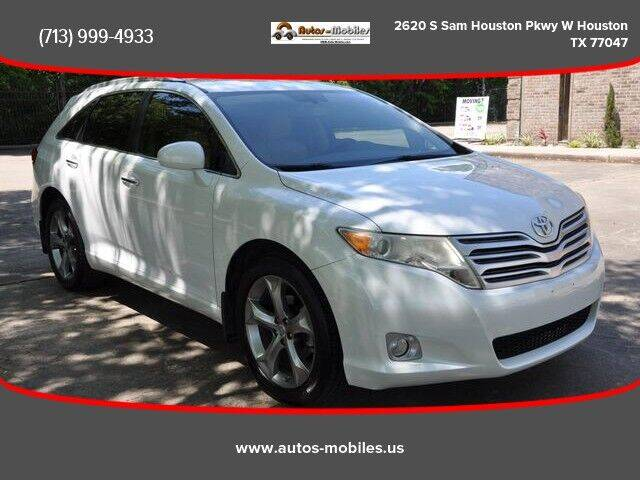 2010 Toyota Venza for sale at AUTOS-MOBILES in Houston TX