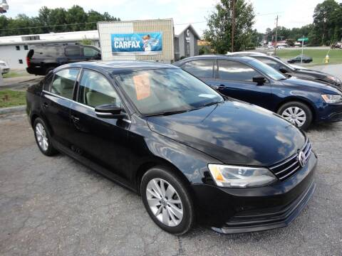 2016 Volkswagen Jetta for sale at HAPPY TRAILS AUTO SALES LLC in Taylors SC