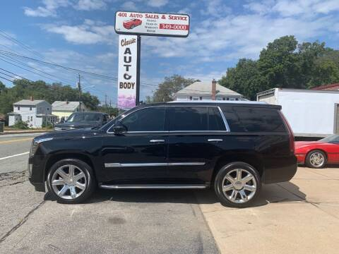 2016 Cadillac Escalade for sale at 401 Auto Sales & Service in Smithfield RI