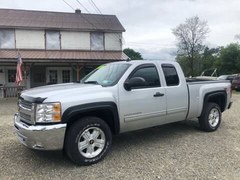 2012 Chevrolet Silverado 1500 for sale at Brush & Palette Auto in Candor NY