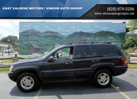 1999 Jeep Grand Cherokee for sale at EAST VALDESE MOTORS / VINSON AUTO GROUP in Valdese NC