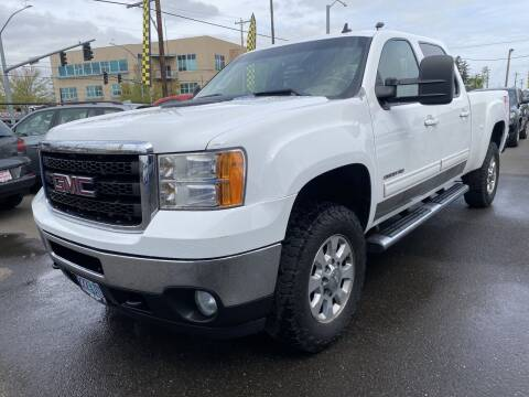 2011 GMC Sierra 2500HD for sale at Salem Motorsports in Salem OR