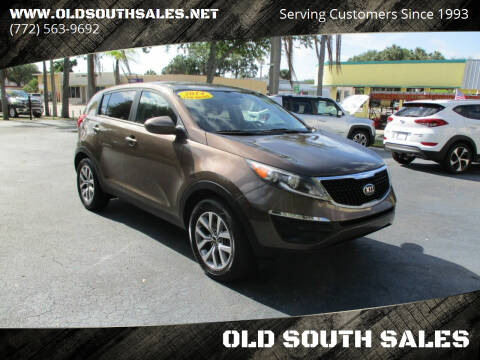 2014 Kia Sportage for sale at OLD SOUTH SALES in Vero Beach FL