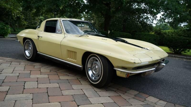 1967 Chevrolet Corvette StingRay Fastback for sale at Fiore Motors, Inc.  dba Fiore Motor Classics in Old Bethpage NY