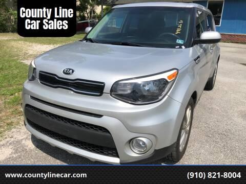 2018 Kia Soul for sale at County Line Car Sales Inc. in Delco NC