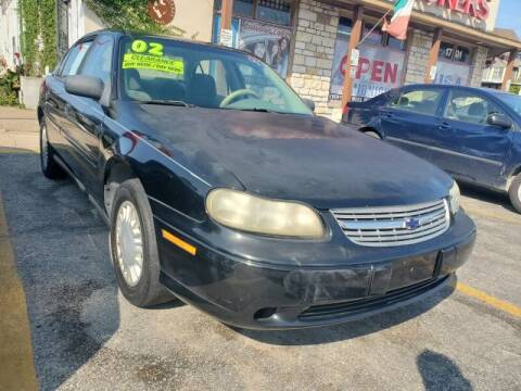 2002 Chevrolet Malibu for sale at USA Auto Brokers in Houston TX