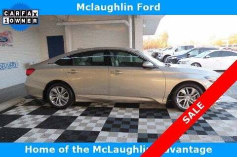 2018 Honda Accord for sale at McLaughlin Ford in Sumter SC