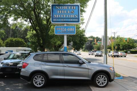 2014 BMW X3 for sale at North Hills Motors in Raleigh NC